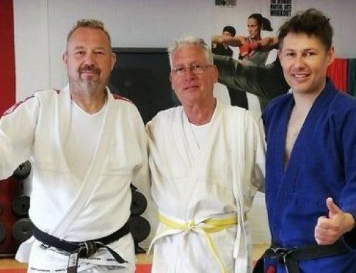 Geslaagd voor eerste graduatie Jiu Jitsu bij team Tanoshii/Conscius Sports