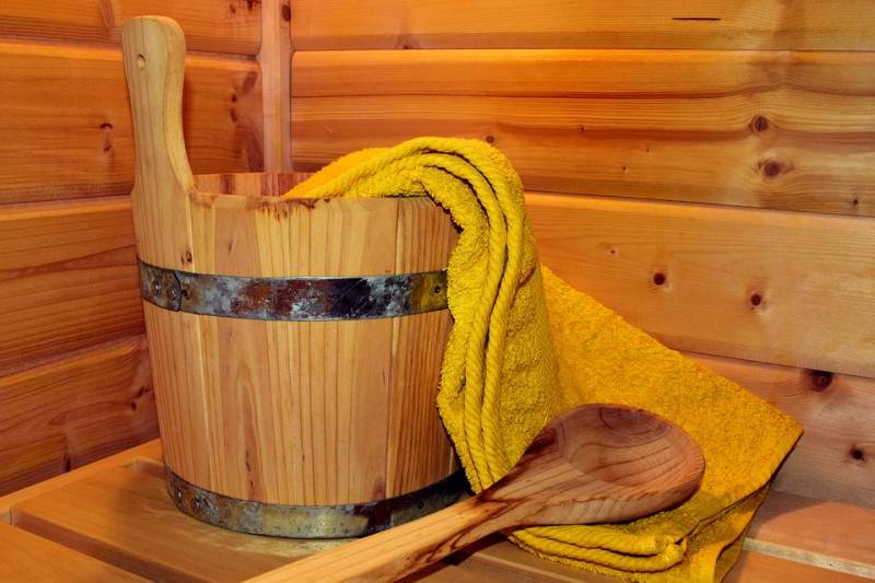 Sauna Conscius Sports Health Center