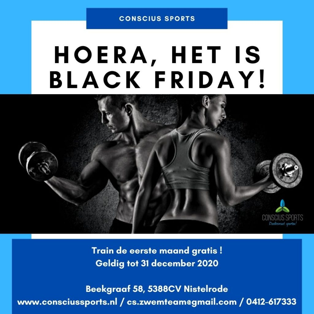 Black Friday Conscius Sports