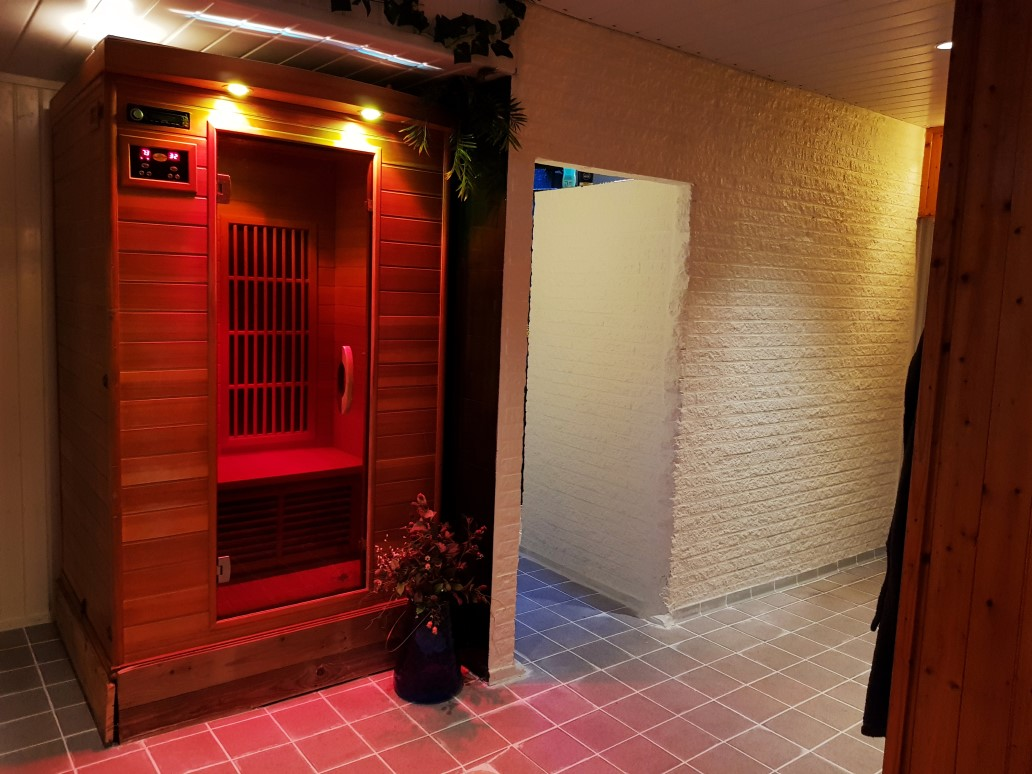 Infarood sauna Wellness Conscius Sports Health Center