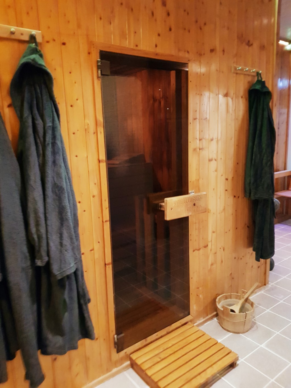 Finse sauna Wellness Conscius Sports Health Center