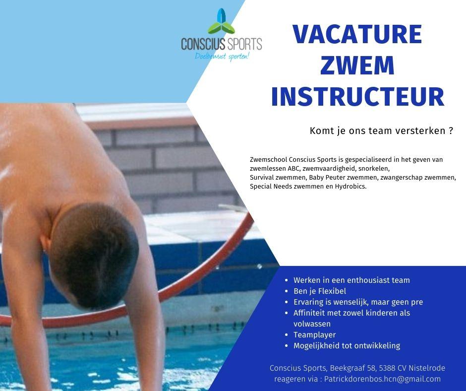 Vacature zweminstructeur