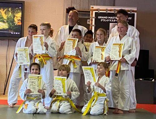 Team Tanoshii / Conscius Sports organiseert judo examens bij Conscius Sports Nistelrode.